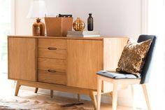 actona marte sideboard oak - Buscar con Google