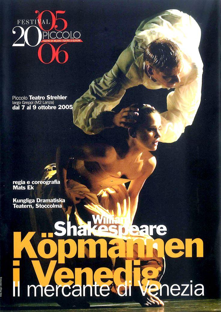 2005/06 Kungliga Dramatiska Teatern, Mats Ek – Köpmannen i Venedig (Il mercante di Venezia), Piccolo Teatro Strehler
