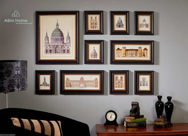 ABm Home 10 Multi Picture Frame Set, Photo Frame Set, Wall Decoration | eBay