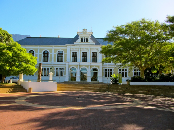 Company Square Gardens, Cape Town, South Africa.