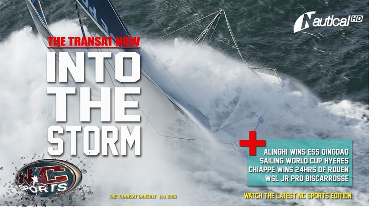 https://youtu.be/P5TlSOB3SZc  NC Sports FULL EDITION! Start and strategies at The Transat, Alinghi on a comeback at the ESS, Philippe Chiappe super win at the 24 hrs of Rouen, WSL Jr. Pro in Biscarrosse, World Cup Sailing Hyéres, ongoing events 360° & lots more. Join host Mia Ceran in studio for the latest NC Sports edition, now also online.
