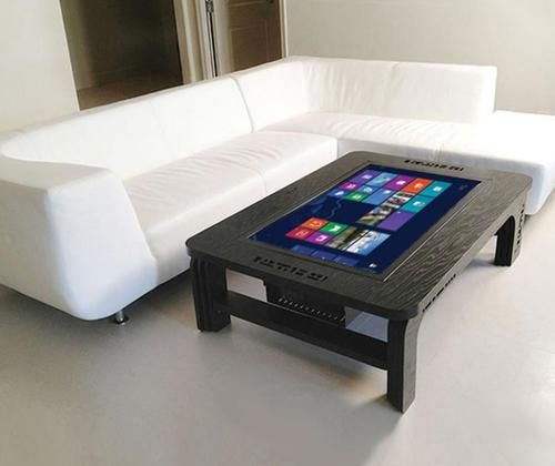 Giant Touchscreen Coffee Table Computer