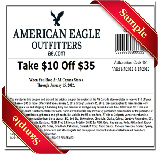 American eagle 2019 coupons