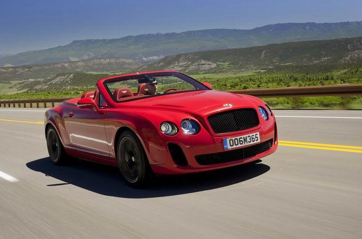 Mobil Bentley Merah Yang Eksotis | Mobil Terbaik Dunia