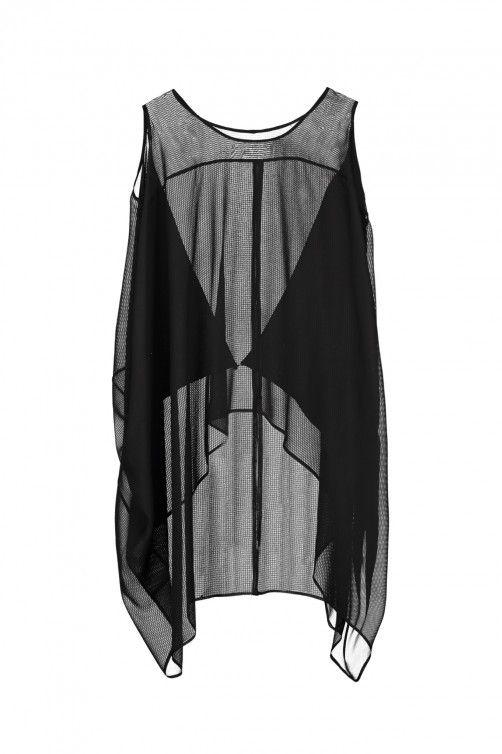 Closed Back Split Oblique - Black Silk Stripe