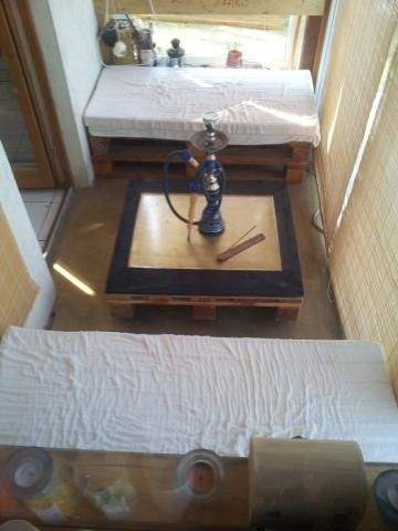 Design asztal - padló