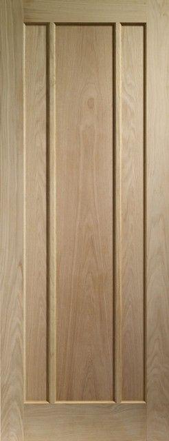 Worcester Oak Fire Door