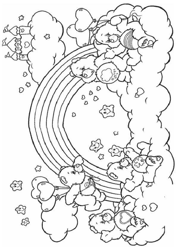 print coloring image - MomJunction | Bear coloring pages ...