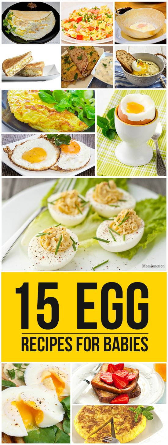 15 Quick And Delicious Egg Recipes For Babies