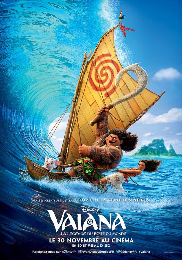 Vaiana, le nouveau Disney! Plus