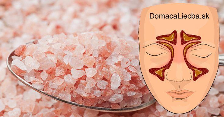 Inhalovanie tejto soli vám zastaví infekcie dutín, zníži hlieny a pomôže lepšie spať