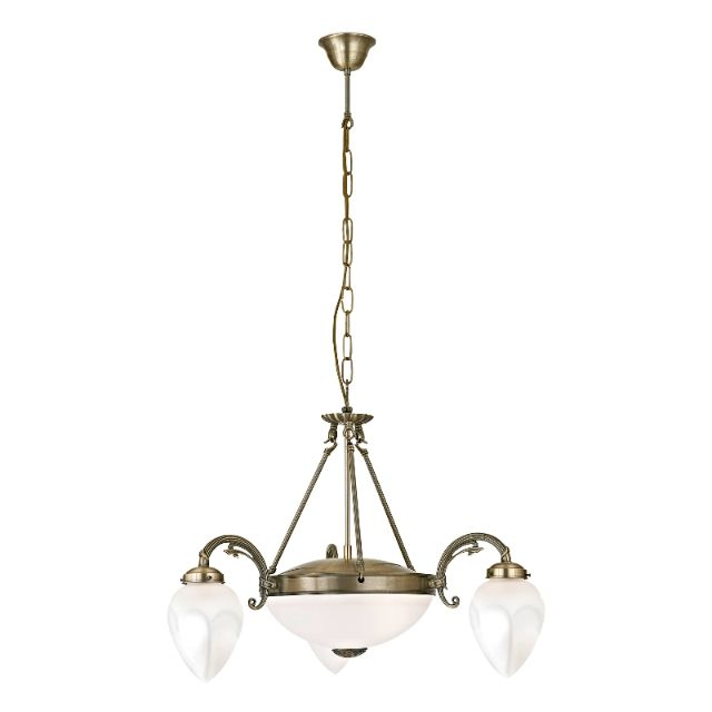 Imperial 5 light pendant ceiling light from EGLO lighting also available as a 8 light ceiling pendant light, flush ceiling light, single wall light, twin wall light. Bronze finish. Full range available from Luxury Lighting online or lighting showroom in Kent.
