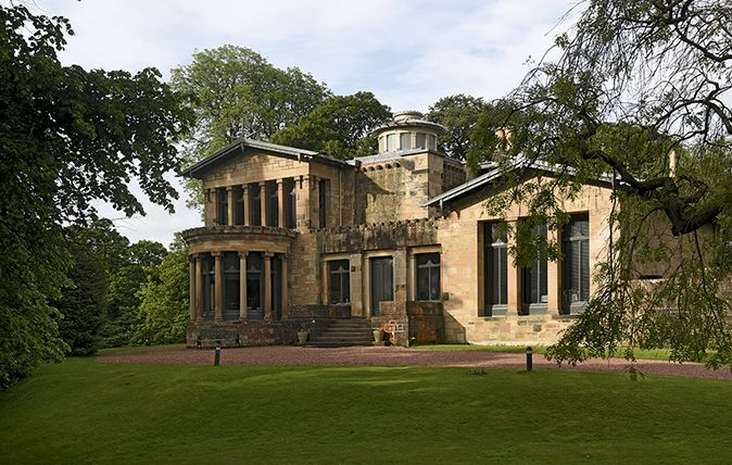 As we celebrate the bicentenary of Alexander 'Greek' Thomson, Gavin Stamp considers the remarkable way in which he adapted principles of Greek architecture to the development of his native city of Glasgow. Holmwood House of 1857–8 is asymmetrically planned, an unusual feature for a work of neo-Grecian architecture. Thomson managed to create dynamic buildings on a small scaleCredit: Simon Jauncey.