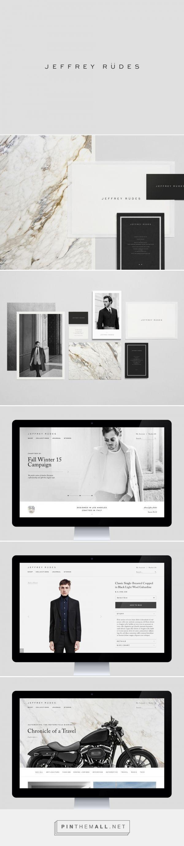 Jeffrey Rudes Branding by Object-Matter | Fivestar Branding – Design and Branding Agency & Inspiration Gallery