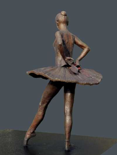 Bronze Dance and Ballet sculpture by artist Sterett-Gittings Kelsey titled: 'Balanchines-Dancer (Bronze Ballet statue)' £317795 #sculpture #art