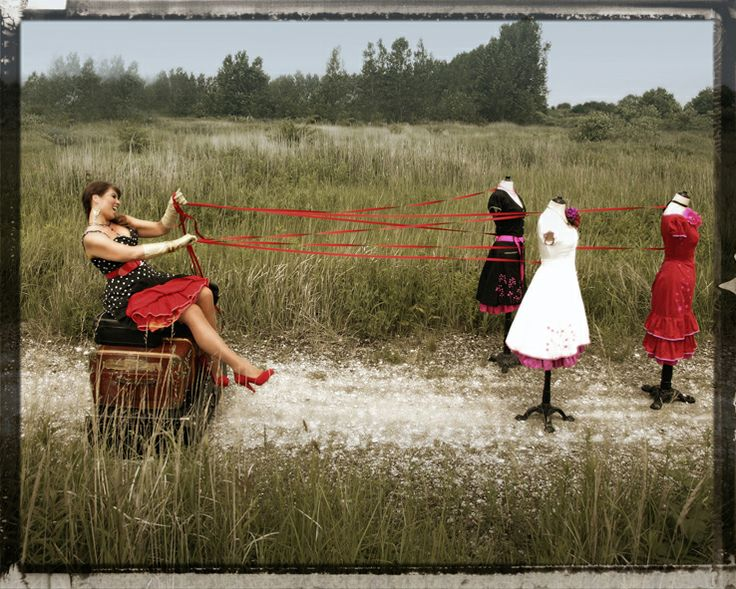 """Photoserie """" On the road"""" Ecoutures designer Johanne is """"on the road""""in the most beautiful crazy circus/gypsy style."""