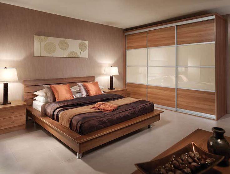 Four panel sliding wardrobe door