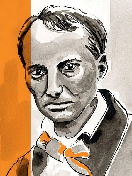 Charles Baudelaire sur la Bibliothèque Numérique #TV5MONDE