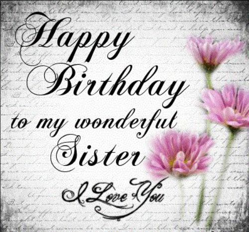 Happy birthday wishes for sister,funny message images from brother.Happy birthday little sister,big sister, cousin sis greetings cards messages with hd pictures.