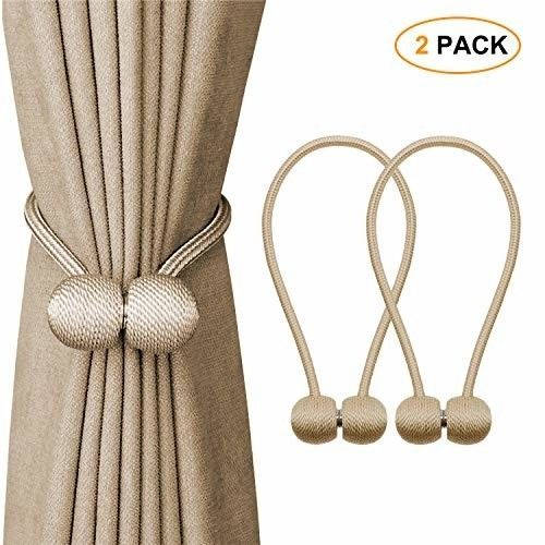 Strong Magnetic Curtain Tie Backs Clips Decorative Window Tie
