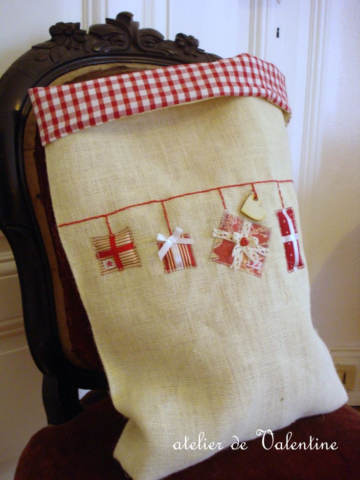 un grand sac de l'atelier pour y glisser cadeaux pour petits & grands