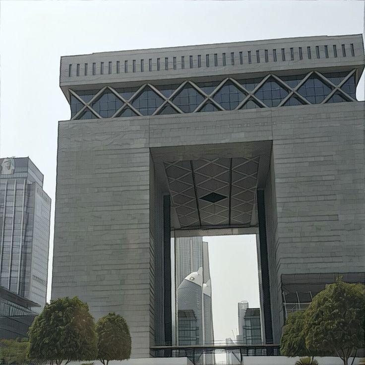 Financial district Dubai DIFC -
