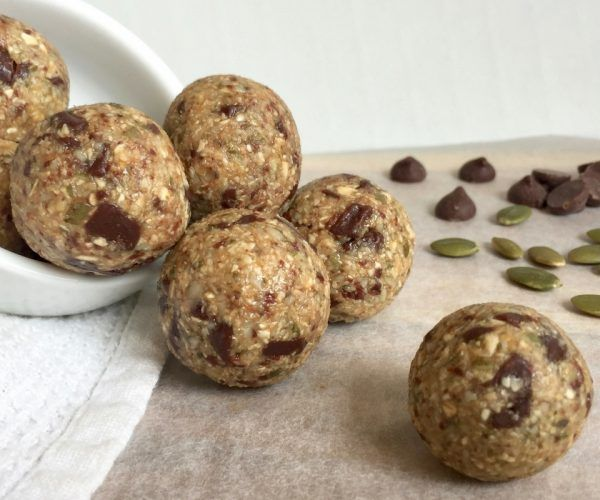 Chocolate Maple Oat Balls