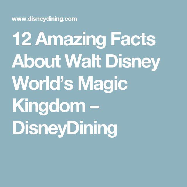 Disney You Re Amazing: 25+ Best Ideas About Walt Disney Facts On Pinterest