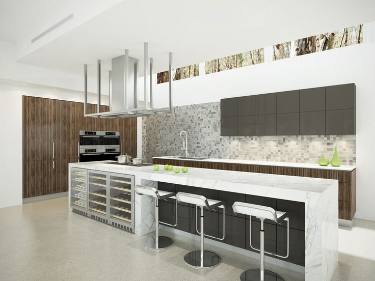 Dan Kitchens Australia | Kitchen Concepts Like the wine fridge under bench top