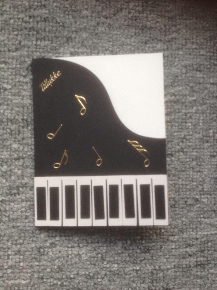 Pianokort