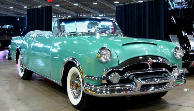 "doyoulikevintage: ""1953 Packard Caribbean Convertible "" vintage"