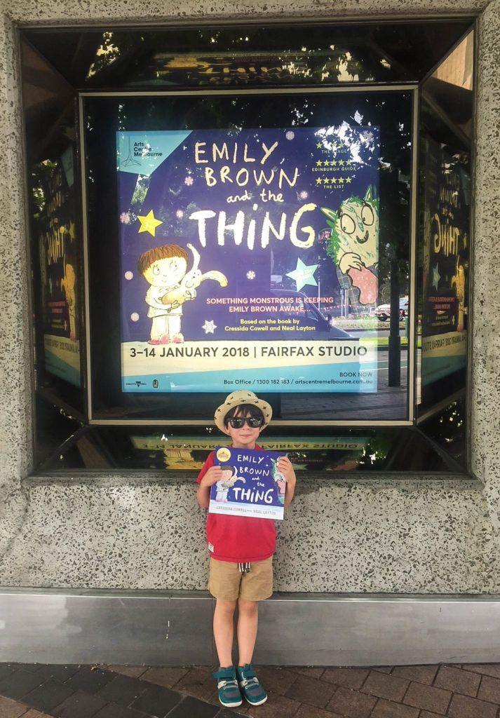 HOT: Emily Brown and the Thing, Arts Centre Melbourne, 100 St Kilda Rd, Melbourne http://tothotornot.com/2018/01/emily-brown-and-the-thing/