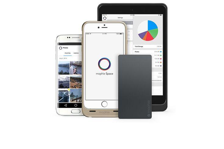 Mophie Space Pack, carcasas con batería y 32, 64 o 128 GB, para iPhone 6, iPhone 6 Plus y iPad Mini #mophie #iphone #ipadmini #spacepack #mophiespacepack