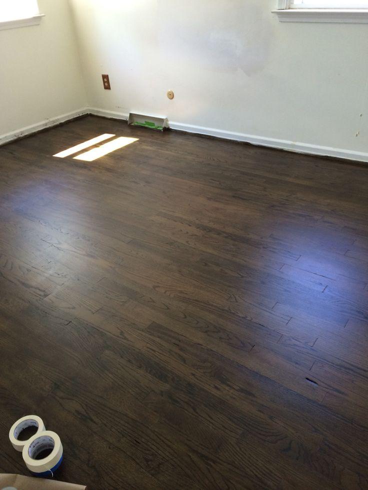 50 50 jacobean and ebony stain our nest pinterest for Hardwood floors jacobean