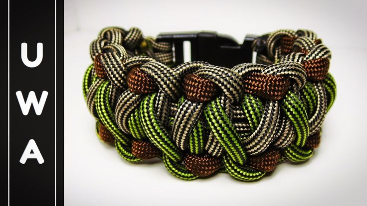 How to make The Timberland Paracord Survival Bracelet [UWA ORIGINAL] [Tu...