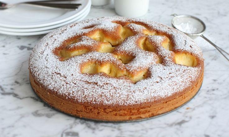 Un un goloso ripieno di crema pasticciera: ecco il segreto della torta Nua. Un dolce irresistibile per colazione o merenda!