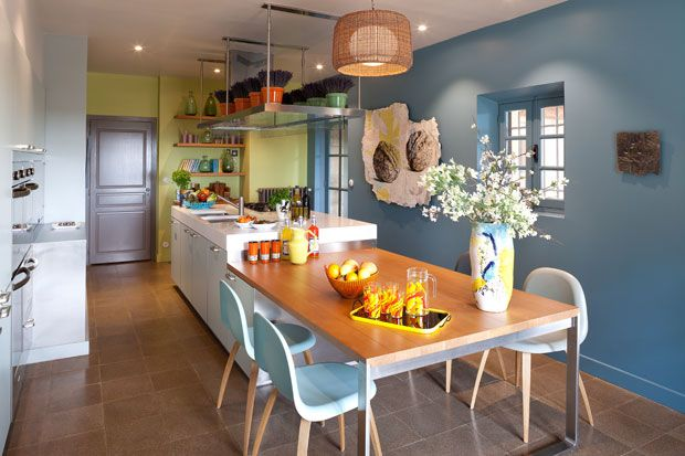 Parete cucina Casa Gérard Faivre - Living