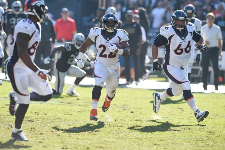 C.J. Anderson - Broncos vs Raiders (11/9/14)