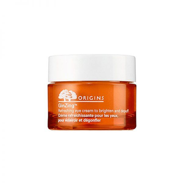 #2: Origins GinZing Refreshing Eye Cream - Loaded with antioxidant-packed ingredients like coffee beans and ginseng, this invigorating cream brightens, fights signs of aging and makes tired eyes look awake in no time.