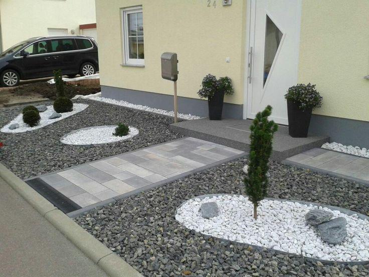 92 besten Inspiration Garten Vorgarten Bilder auf Pinterest - vorgarten gestalten reihenhaus