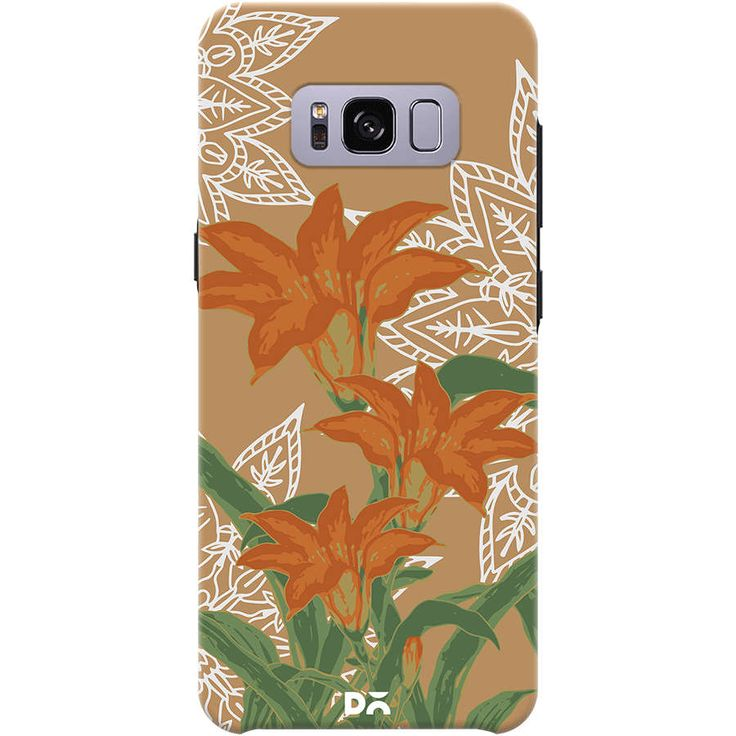 Flower Case Cover For Samsung Galaxy S8 Plus Designed by Zala Farah.  Keep your phone new forever with dailyobjects accessories collection.