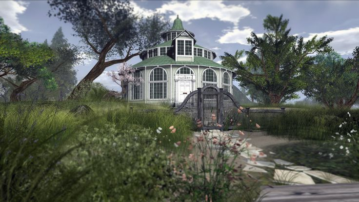 The Aviary 2000 - Second Life House