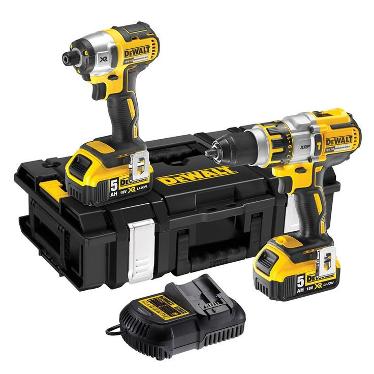 Dewalt Dck255P2-Gb 18V 5Ah Xrp Bl Hammer & Impact Driver Kit 2 X 5.0Ah is a highly durable package suitable for DIY, onsite or workshop use. Its compact and lightweight design makes it easy to carry and delivers maximum performance with longer runtimes. | L047841