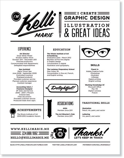 great looking resume creative resume