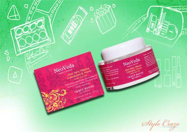 Best Dark Circle Removal Creams - Craft House - Aloe Vera, Hibiscus, Calendula and Honey Under Eye Gel
