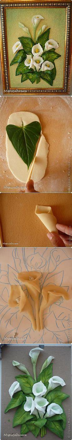 Cuadro en 3D con porcelana fría