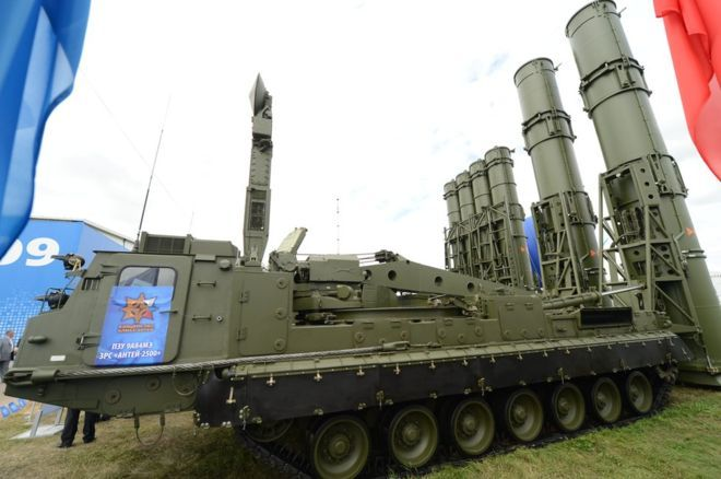 Russian S-300 air defence missiles 'arrive in Iran' 4/11/16  Russia is reported to have started delivering S-300 surface-to-air missiles to Iran, under a deal opposed by Israel, the US and Saudi Arabia.