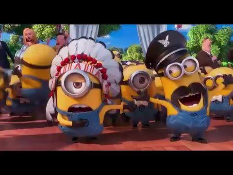 Best Of The Minions, Minions Papaya Dance Remix 2016. New