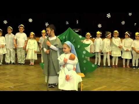 Vánoční besídka dětí z MŠ v Hroznové Lhotě II. - YouTube