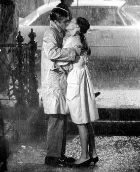 Breakfast at Tiffany's. so classic kissing scene
